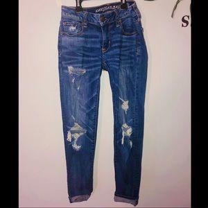 Mom/ boyfriend American eagle jeans !!